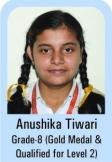 Anushika-Tiwari-Grade-8-Gold-Madel-Qualified-for-Level-2