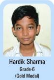 Hardik-Sharma-Grade-6-Gold-Madel