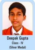 Deepak-Gupta-Class-IV-Silver-Madel