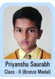 Priyanshu-Saurabh-Class-II-Bronze-Madel