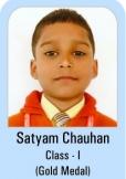 Satyam-Chauhan-Class-I-Gold-Madel