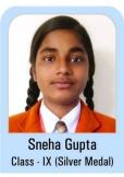 Sneha-Gupta-Class-IX-Silver-Madel