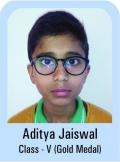 Aditya-Jaiswal-Class-V-Gold-Madel