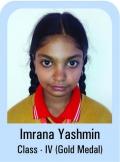 Imrana-Yashmin-Class-IV-Gold-Madel