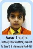 Aarav-Tripathi-Grade-4-Distinction-Madel-Qualified-For-Level-2-International-rank-19