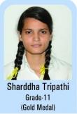 Shardha-Tripathi-Grade-11-Gold-Madel