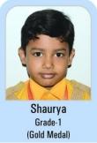 Shaurya-Grade-1-Gold-Madel