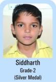 Sidharth-Grade-2-Silver-Madel