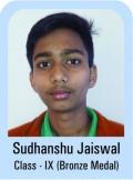 Sudhanshu-Jaiswal-Class-IX-Bronze-Madel