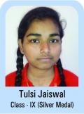 Tulsi-Jaiswal-Class-IX-Silver-Madel