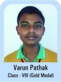 Varun-Pathak-Class-VII-Giold-Madel