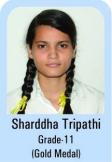 Sharddha-Tripathi-Grade-11-Gold-Madel